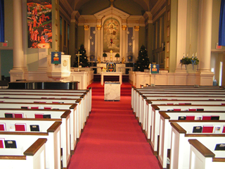 Gloria Dei Lutheran Church altar